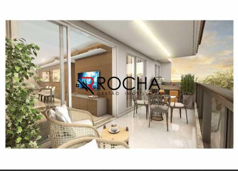Varanda - Apartamento com Área Privativa 3 quartos à venda Tijuca, Rio de Janeiro - R$ 869.000 - VLAA30001 - 7