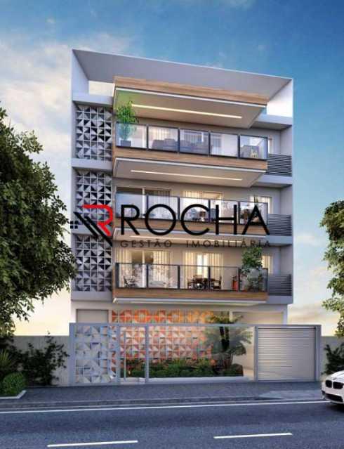 Fachada - Apartamento com Área Privativa 3 quartos à venda Tijuca, Rio de Janeiro - R$ 869.000 - VLAA30001 - 3
