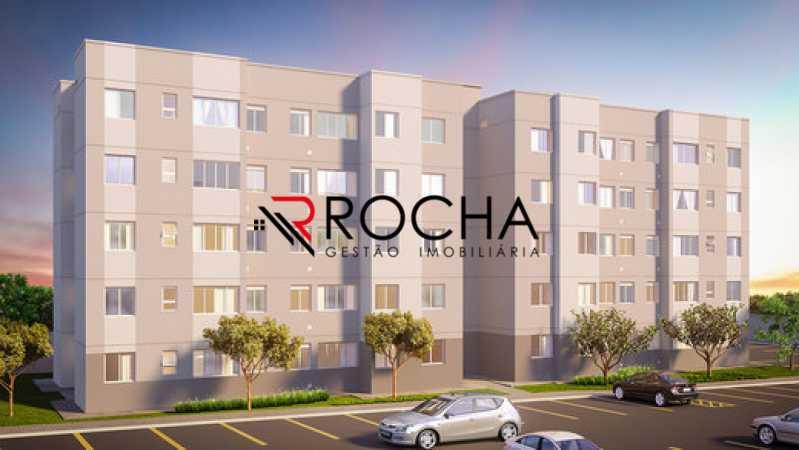 260761 - Apartamento 2 quartos à venda Curicica, Rio de Janeiro - R$ 202.510 - VLAP20370 - 1