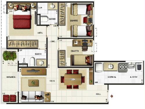 2 - Apartamento 3 quartos à venda Pechincha, Rio de Janeiro - R$ 395.000 - RA30147 - 3