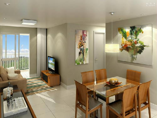 SALA DO APTO - Apartamento 3 quartos à venda Pechincha, Rio de Janeiro - R$ 395.000 - RA30147 - 27