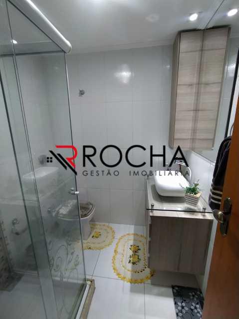 Banheiro social - Apartamento 3 quartos à venda Madureira, Rio de Janeiro - R$ 420.000 - VLAP30150 - 25