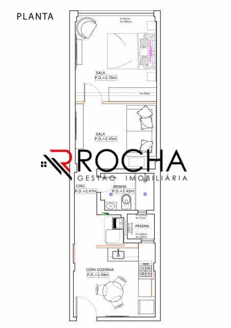 e0b7e6d86236342c-PLANTA 1 - Apartamento 1 quarto à venda Copacabana, Rio de Janeiro - R$ 539.000 - VLAP10030 - 13