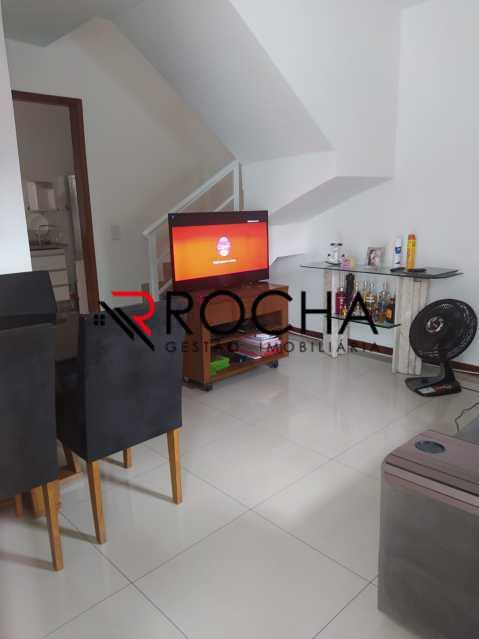 Sala - Casa em Condomínio 2 quartos à venda Vila Valqueire, Rio de Janeiro - R$ 470.000 - VLCN20051 - 7