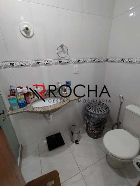 Banheiro suíte - Casa em Condomínio 2 quartos à venda Vila Valqueire, Rio de Janeiro - R$ 470.000 - VLCN20051 - 17