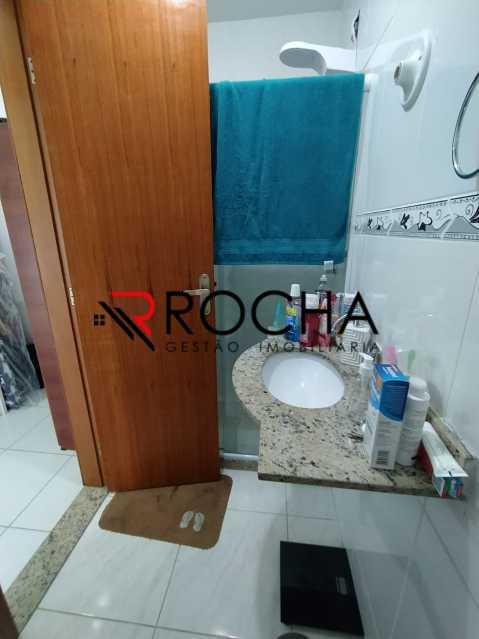 Banheiro suíte - Casa em Condomínio 2 quartos à venda Vila Valqueire, Rio de Janeiro - R$ 470.000 - VLCN20051 - 18