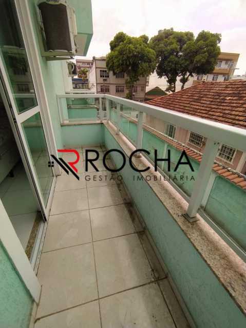 Varanda - Casa em Condomínio 2 quartos à venda Vila Valqueire, Rio de Janeiro - R$ 470.000 - VLCN20051 - 19