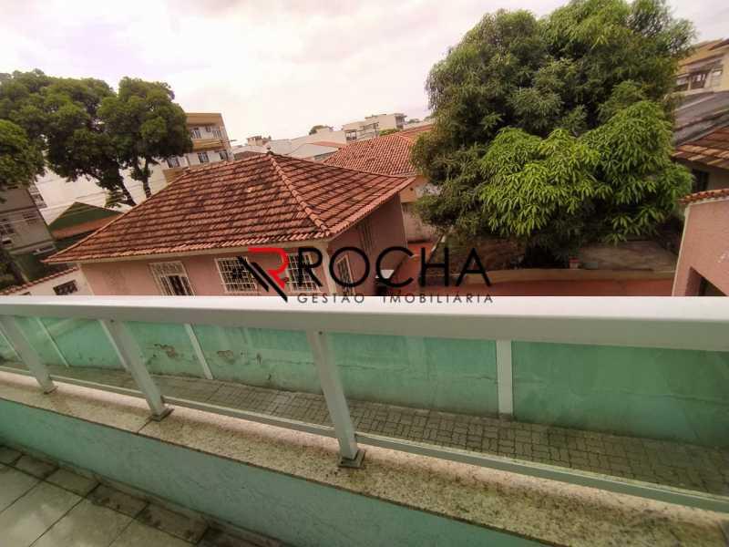 Vista varanda - Casa em Condomínio 2 quartos à venda Vila Valqueire, Rio de Janeiro - R$ 470.000 - VLCN20051 - 20