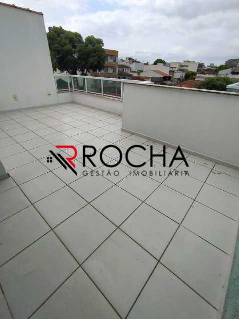Terraço - Casa em Condomínio 2 quartos à venda Vila Valqueire, Rio de Janeiro - R$ 470.000 - VLCN20051 - 24