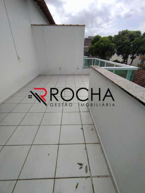 Terraço - Casa em Condomínio 2 quartos à venda Vila Valqueire, Rio de Janeiro - R$ 470.000 - VLCN20051 - 26