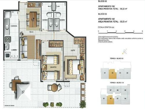 FOTO12 - Jardins da Vila Apartamentos de 2,3 quartos e coberturas - RA30241 - 13