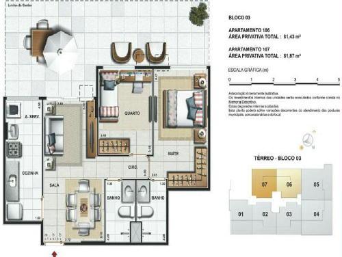 FOTO13 - Jardins da Vila Apartamentos de 2,3 quartos e coberturas - RA30241 - 14