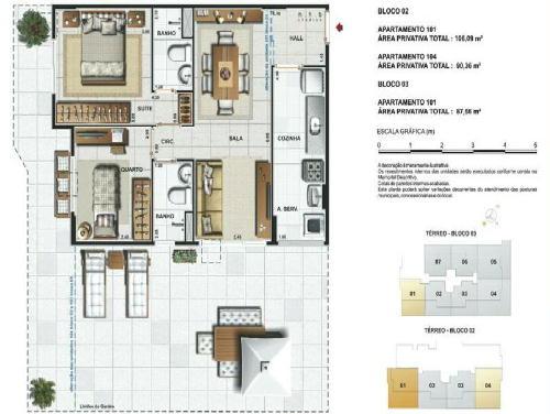 FOTO16 - Jardins da Vila Apartamentos de 2,3 quartos e coberturas - RA30241 - 18