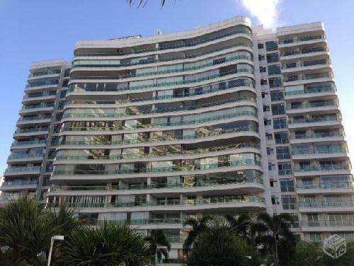 FACHADA PRÉDIO - Apartamento 4 quartos à venda Barra da Tijuca, Rio de Janeiro - R$ 2.600.000 - RA40021 - 22