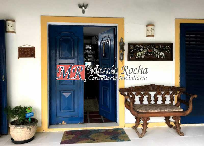 Entrada principal - Casa 3 quartos à venda Anil, Rio de Janeiro - R$ 890.000 - RR30140 - 1