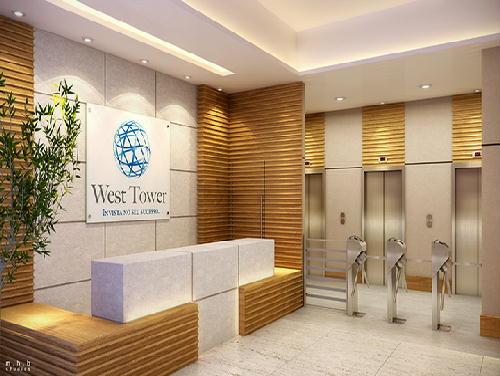 FOTO3 - LOJAS E SALAS COMERCIAIS EM CAMPO GRANDE: WEST TOWER - MDL - CONASA - Tipologia: Salas e Lojas Comerciais Área Privativa Unid. Tipo: Salas - 19,29m² / Lojas - 25,45m² À 41,95m² Lazer: - RS10002 - 4