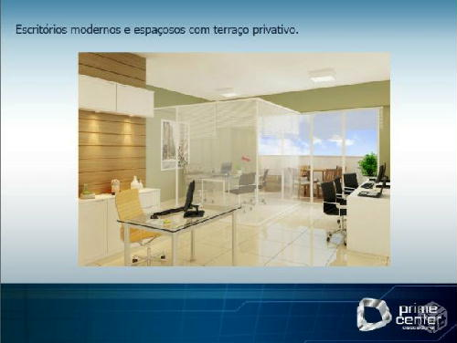 FOTO1 - CASCADURA OFFICE PRIME, SALAS COMERCIAIS EM CASCADURA, EXCELENTE LOCALIZAÇÃO, SOFISTICAÇÃO E BOM GOSTO. VENHA GANHAR DINHEIRO. - RS10017 - 3