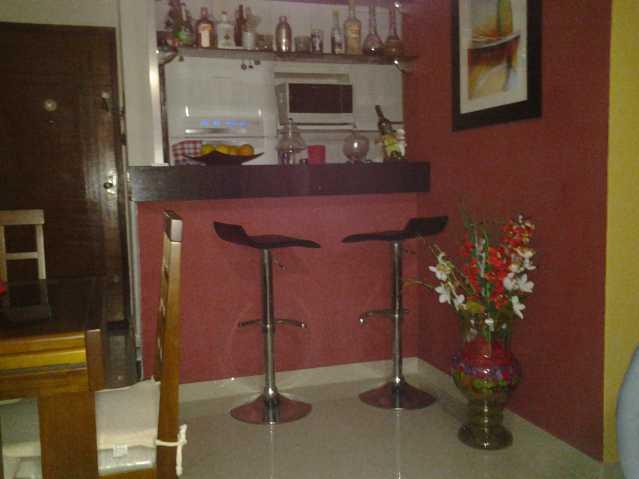 sala bar - PRAÇA SECA CENTRO APTO LINDO ARMS 2QTS SUÍTE VARANDA 1VG LAZER AC CARTA! - VLAP20003 - 1