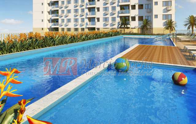 02_piscina_infantil - Nobre Norte Clube Residencial apto de 2 e 3 quartos com suíte varanda 1vg e lazer consultem-nos tabela de preços entrega 2017 - VLAP20015 - 3