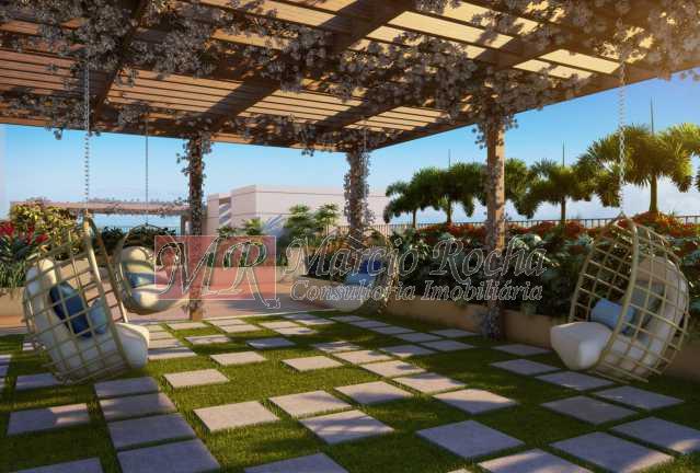 03_redario - Nobre Norte Clube Residencial apto de 2 e 3 quartos com suíte varanda 1vg e lazer consultem-nos tabela de preços entrega 2017 - VLAP20015 - 4
