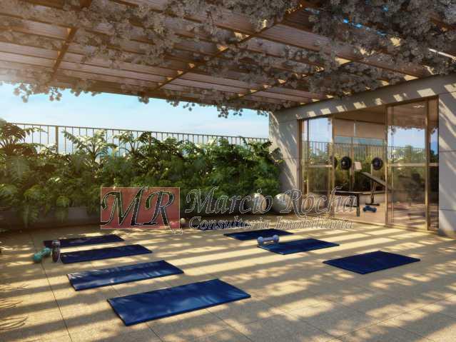 10_yoga_descanso - Nobre Norte Clube Residencial apto de 2 e 3 quartos com suíte varanda 1vg e lazer consultem-nos tabela de preços entrega 2017 - VLAP20015 - 8