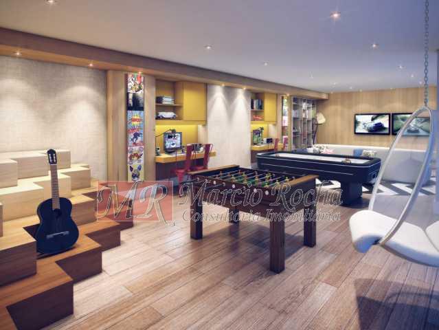 13_espaco_teen - Nobre Norte Clube Residencial apto de 2 e 3 quartos com suíte varanda 1vg e lazer consultem-nos tabela de preços entrega 2017 - VLAP20015 - 9