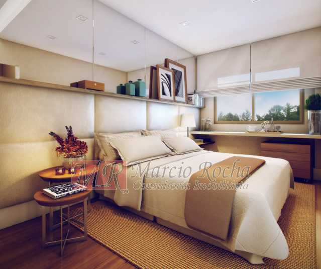 22_apto_decorado_suite - Nobre Norte Clube Residencial apto de 2 e 3 quartos com suíte varanda 1vg e lazer consultem-nos tabela de preços entrega 2017 - VLAP20015 - 15