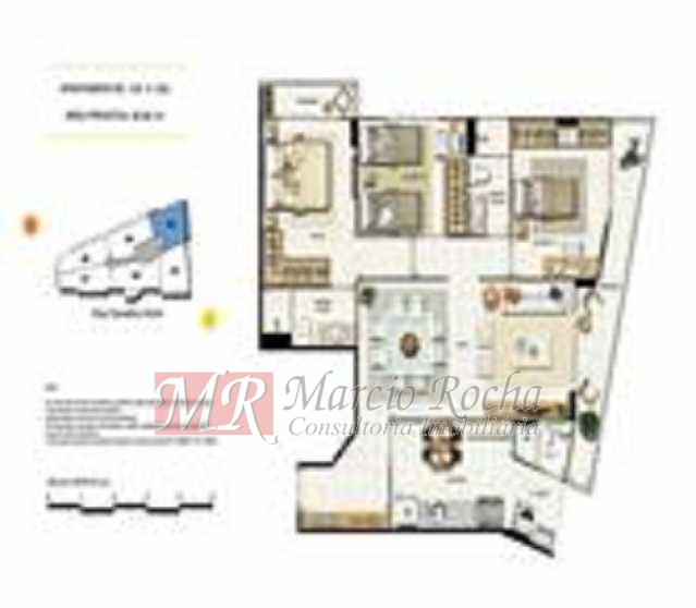 p4 - ijuca Royalle, empreendimento de luxo novo, ótima localização sendo na rua Carvalho Alvim, cobertura de 3 quartos com 187m2. - VLAP30009 - 16
