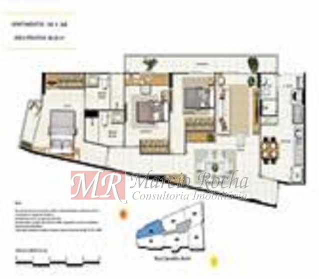 p6 - ijuca Royalle, empreendimento de luxo novo, ótima localização sendo na rua Carvalho Alvim, cobertura de 3 quartos com 187m2. - VLAP30009 - 18