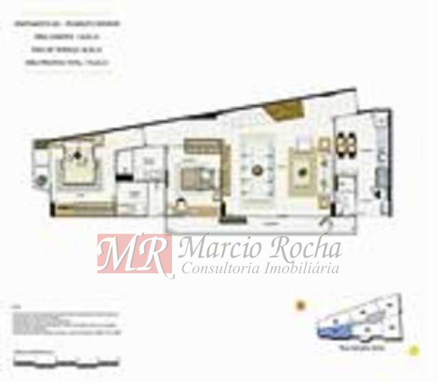 p7 - ijuca Royalle, empreendimento de luxo novo, ótima localização sendo na rua Carvalho Alvim, cobertura de 3 quartos com 187m2. - VLAP30009 - 19