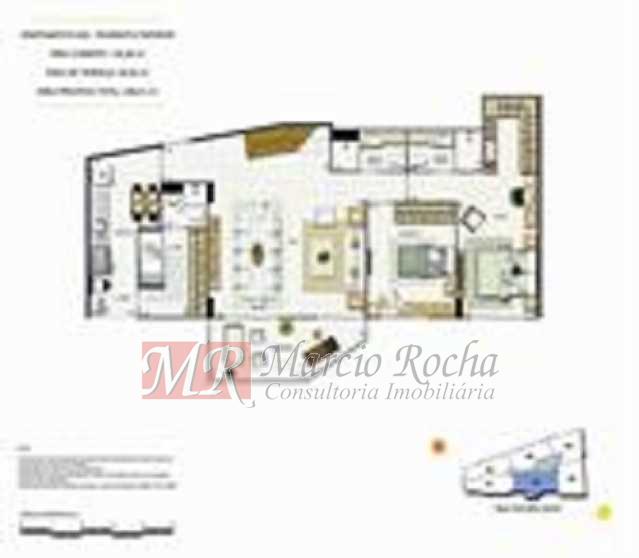 p9 - ijuca Royalle, empreendimento de luxo novo, ótima localização sendo na rua Carvalho Alvim, cobertura de 3 quartos com 187m2. - VLAP30009 - 21
