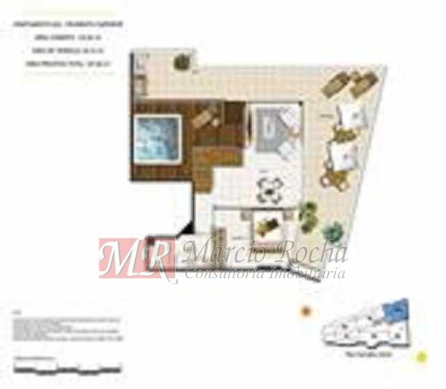 p14 - ijuca Royalle, empreendimento de luxo novo, ótima localização sendo na rua Carvalho Alvim, cobertura de 3 quartos com 187m2. - VLAP30009 - 26