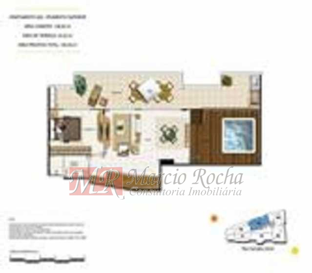 p15 - ijuca Royalle, empreendimento de luxo novo, ótima localização sendo na rua Carvalho Alvim, cobertura de 3 quartos com 187m2. - VLAP30009 - 27