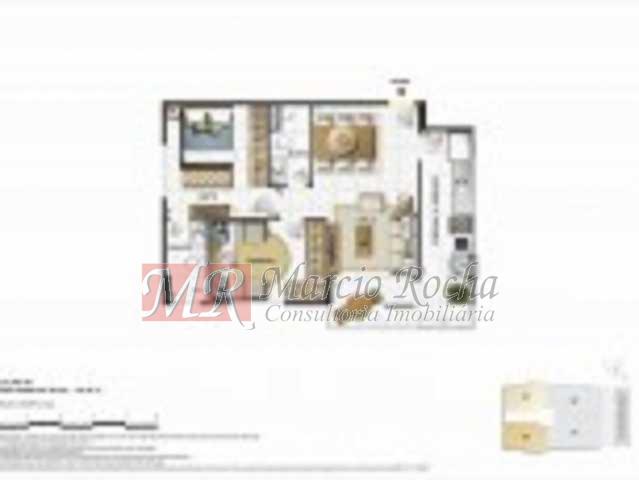 Apto104-153x115 - Granville Rua Professor Gabizo, Tijuca, Cobertura Duplex 183,00m2, 03 dormitórios, suíte, varandão, terração, 02 vagas, aceita carta e FGTS. Infra estrutura total de lazer. - VLCO30008 - 21