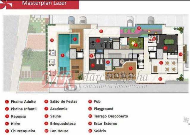 087514022048724 - Campinho, Melodia Residencial e Lazer, Apartamentos e coberturas duplex de 3 e 2 quartos com lazer para toda a família - VLAP20035 - 12