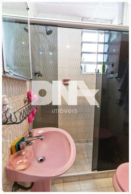 banheiro social com Blindex - Apartamento à venda Rua Barão de Mesquita,Tijuca, Rio de Janeiro - R$ 380.000 - FA10150 - 6