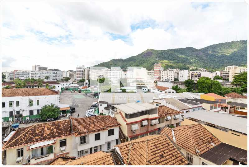 quarto vista - Apartamento à venda Rua Barão de Mesquita,Tijuca, Rio de Janeiro - R$ 380.000 - FA10150 - 17