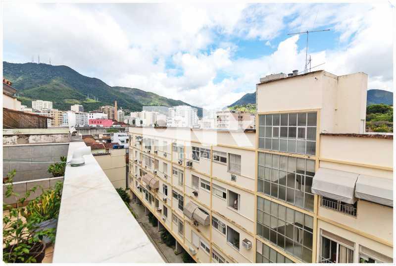 terraço vista - Apartamento à venda Rua Barão de Mesquita,Tijuca, Rio de Janeiro - R$ 380.000 - FA10150 - 13
