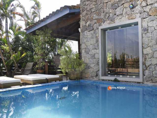 foto1 - Casa em Condomínio à venda Estrada da Barra da Tijuca,Barra da Tijuca, Rio de Janeiro - R$ 3.000.000 - NICN50002 - 1