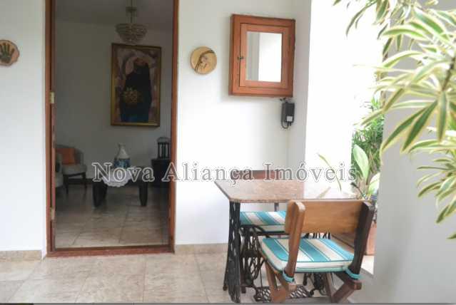 1.hall de entrada - Casa à venda Rua Icatu,Botafogo, Rio de Janeiro - R$ 3.130.000 - NBCA40006 - 1