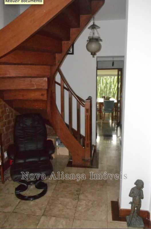 6.sala social 2 vista inferior - Casa à venda Rua Icatu,Botafogo, Rio de Janeiro - R$ 3.130.000 - NBCA40006 - 7