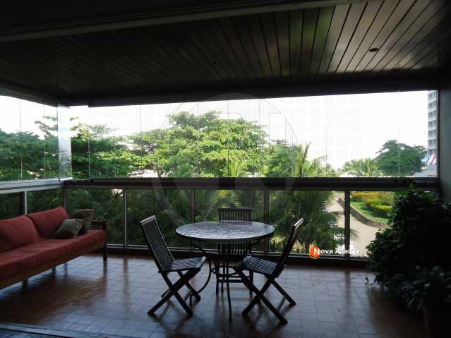 vista da sala - Apartamento à venda Avenida Almirante Álvaro Alberto,São Conrado, Rio de Janeiro - R$ 2.000.000 - NBAP30129 - 1