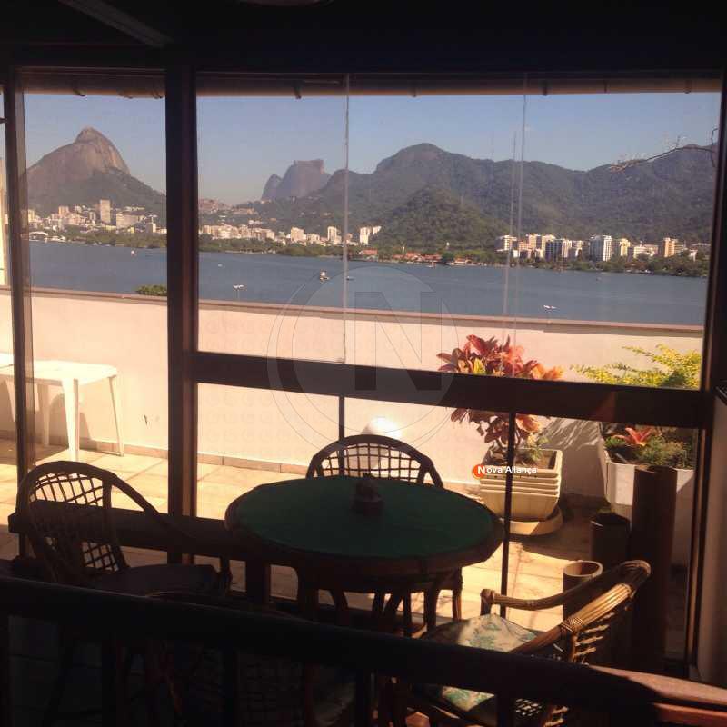 19 - Cobertura à venda Rua Carvalho Azevedo,Lagoa, Rio de Janeiro - R$ 3.400.000 - NBCO30024 - 20