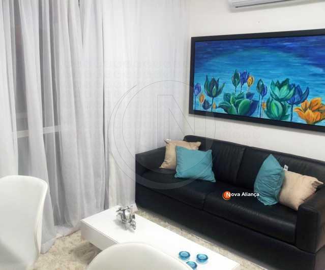 1 - Flat à venda Rua Barão da Torre,Ipanema, Rio de Janeiro - R$ 2.199.000 - NIFL10012 - 1