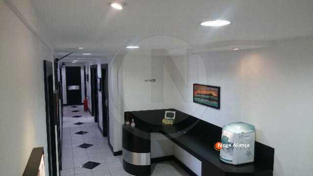 Corredor salas - Sala Comercial 200m² à venda Rua República do Líbano,Centro, Rio de Janeiro - R$ 1.900.000 - NBSL00014 - 3