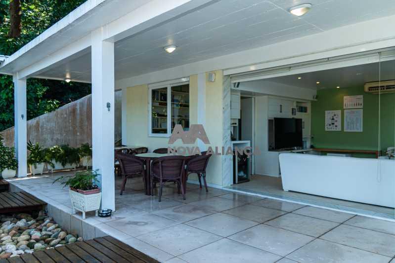 IMG_0333 - Casa à venda Rua João Borges,Gávea, Rio de Janeiro - R$ 3.900.000 - NICA40016 - 5