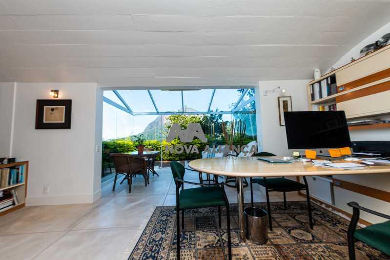IMG_0372 - Casa à venda Rua João Borges,Gávea, Rio de Janeiro - R$ 3.900.000 - NICA40016 - 18
