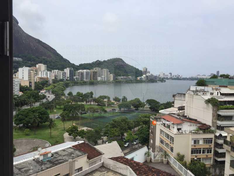 1 - Apartamento 2 quartos à venda Jardim Botânico, Rio de Janeiro - R$ 1.380.000 - NBAP20421 - 1
