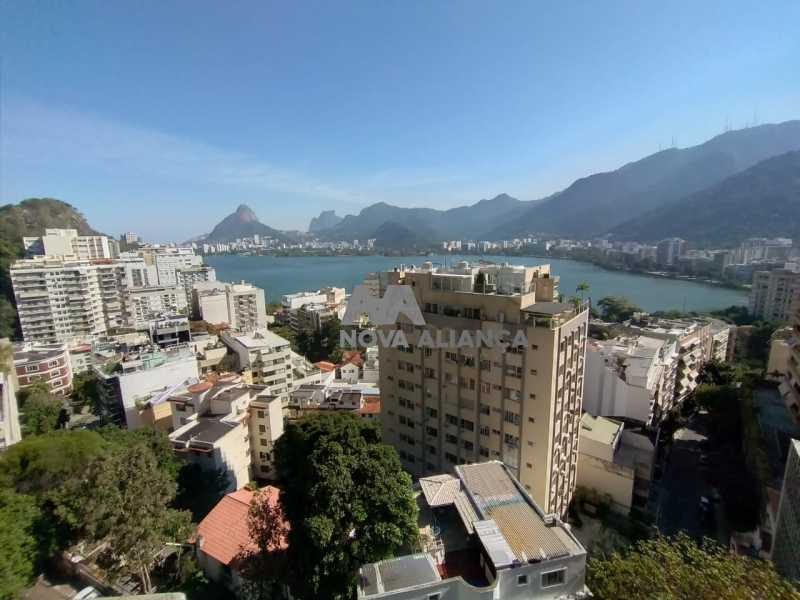 06aacc71-e134-4c4d-8e9c-44ab39 - Cobertura à venda Rua Sacopa,Lagoa, Rio de Janeiro - R$ 3.300.000 - NBCO40013 - 1