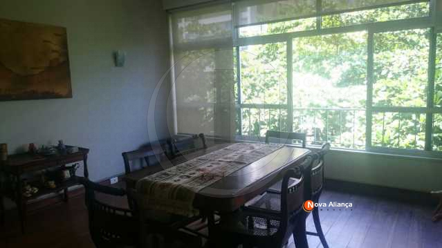 sala jantar 1ºpiso - Cobertura 3 quartos à venda Leblon, Rio de Janeiro - R$ 4.900.000 - NICO30029 - 6